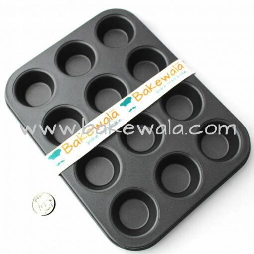 Non-stick Mini Muffin or Cupcake Tray - 12 cups