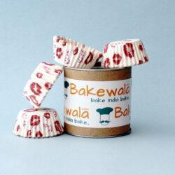 Cupcake Paper Liners - Kisses - 7.5cm - 100 pcs