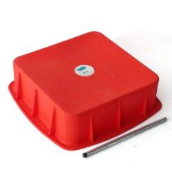 Silicone Cake Mould - Square 8 X 8 Inch