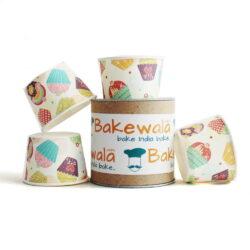 Muffin Paper Cups - Cuppy Cakes Fun 10.5 cm  - 30 pcs