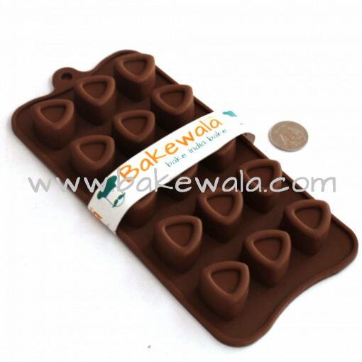 Silicon Chocolate Mould - Triangle Shape