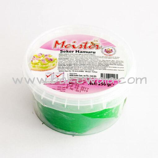 Meister Sugar Paste or Fondant-Green-250g