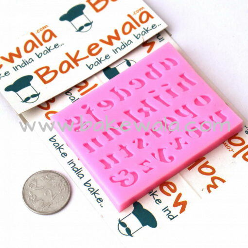 Silicon Mould - Letters - A to Z lowercase