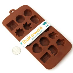Silicone Chocolate Mould - Quirky Shapes