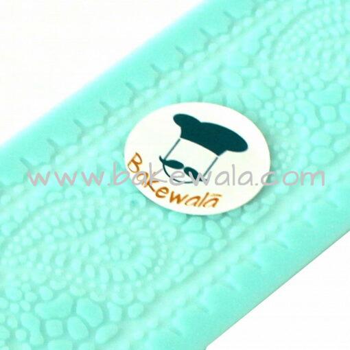 Silicone Sugar Lace Mat -Paisley