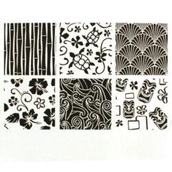 Texture Sheet - Hawaiian - Set of 6