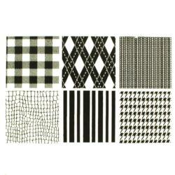 Texture Sheet - Fabric - Set of 6