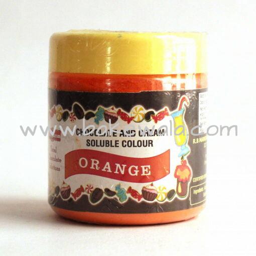 Mangharam - Chocolate and  Cream Soluble Colour -  Orange 25g