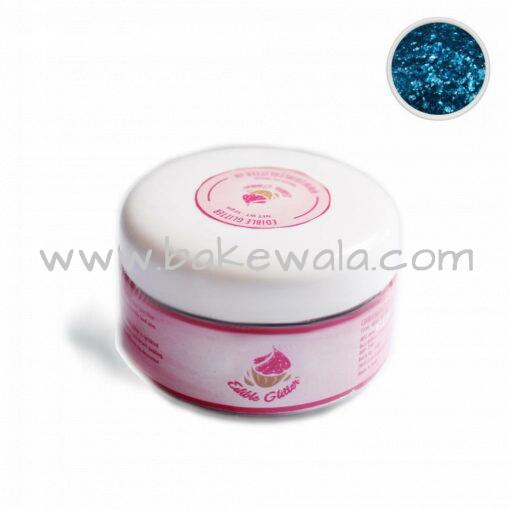 Edible Glitter - Turquiose - 50g
