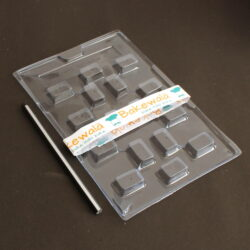 PVC Chocolate Mould - Type 075 - Set of 5 trays
