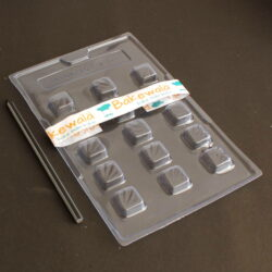 PVC Chocolate Mould - Type 019 - Set of 5 trays