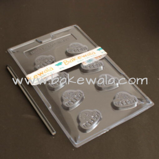 PVC Chocolate Mould - Type 039 - Set of 5 trays