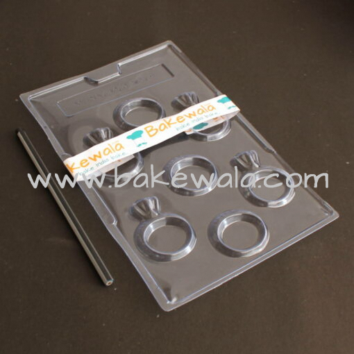PVC Chocolate Mould - Type 033 - Set of 5 trays