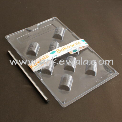 PVC Chocolate Mould - Type 086 - Set of 5 trays