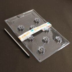 PVC Chocolate Mould - Type 138 - Set of 5 trays