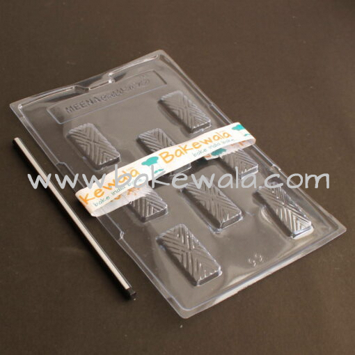 PVC Chocolate Mould - Type 099 - Set of 5 trays