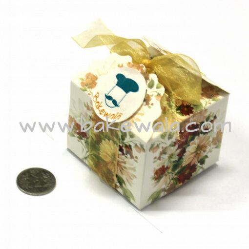 Chocolate Box - Vintage - Gold - Set of 10 pcs