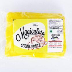 Magiculata - Fondant or Sugar Paste - Lemon Yellow - 250g