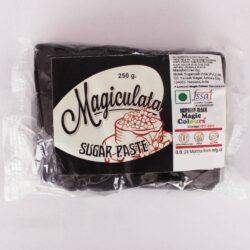 Magiculata - Fondant or Sugar Paste - Midnight Black - 250g
