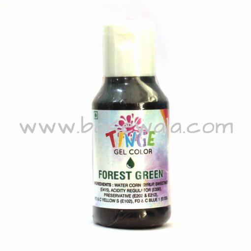 Tinge Gel Color - Forest Green - 20g