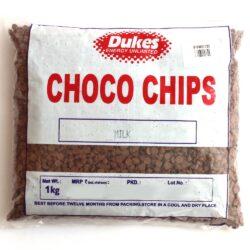 Dukes - Milk Choco Chips - 1kg