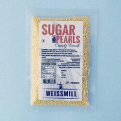 Weissmill - Sugar Pearls Beads - Mini - Yellow - 500g