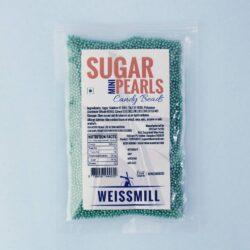 Weissmill - Sugar Pearls Beads - Mini - Green - 500g