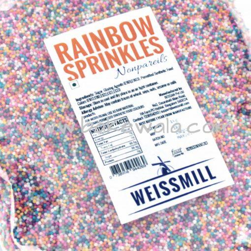 Weissmill - Rainbow Sprinkles - 10kg