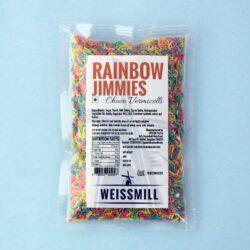Weissmill - Rainbow Jimmies - Choco Vermicelli  - 1Kg