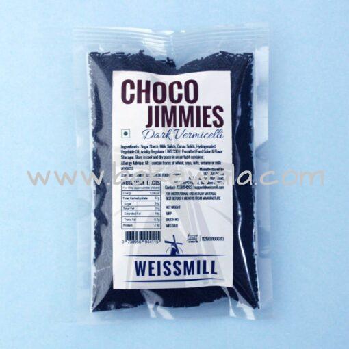 Weissmill - Choco Jimmies - Dark Vermicelli - 100g