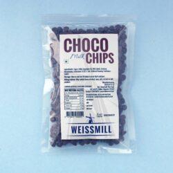 Weissmill - Milk Choco Chips - 100g