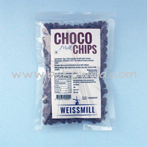 Weissmill Milk Choco Chips - 10kg