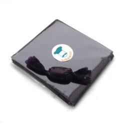 Chocolate Wrapper - Self Twist - Transparent - Purple - 300pcs