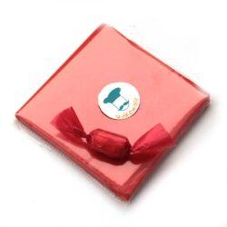 Chocolate Wrapper - Self Twist - Transparent - Orange - 300pcs