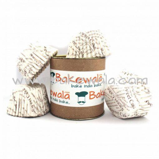 Cupcake Paper Liners - Sweet Cake - 12cm - 100 pcs