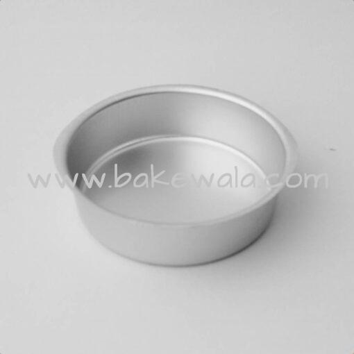 Aluminium Cake Tin Mold - Round Shape - Size 1 - Small Mould - 5.25 inches