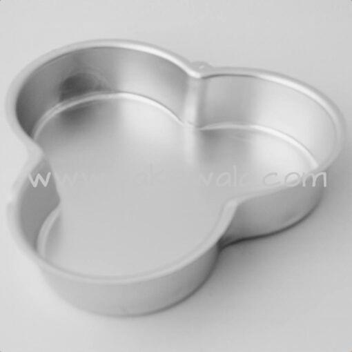 Aluminium Cake Tin Mold - Petal Shape - Size 3 - 8.8 inches