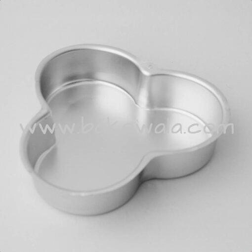 Aluminium Cake Tin Mold - Petal Shape - Size 2 - Medium Mould - 7.75 inches