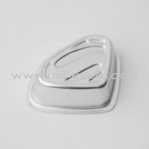 Aluminium Cake Tin Mold - Superman - Small Mould - 10.5 cm wide