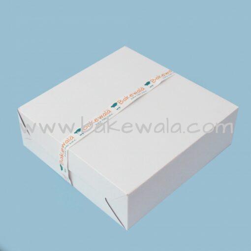 Cake Box - Premium White - 12'' x 12''