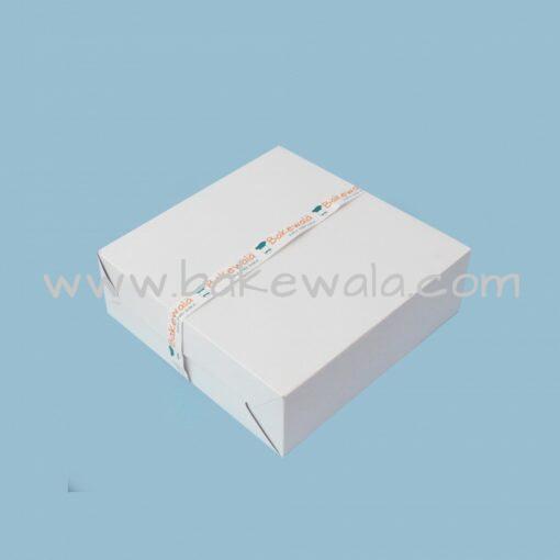 "Cake Box - Premium White - 8'' X 8"""