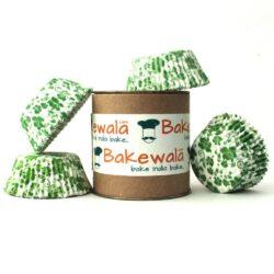 Cupcake Paper Liners - Evergreen - 11cm - 100 pcs