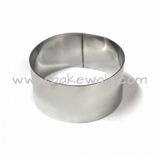 Cake Ring Mousse Ring - 4 inches