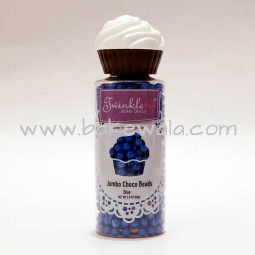 Jumbo Choco Beads -Blue