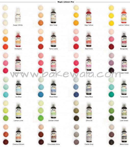 Icing or Gel Color - Magic Colours Pro Gel - Lemon Lime - 32g