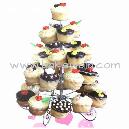 Metal Cupcake Stand - 5 Tier