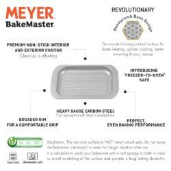 Meyer Bakemaster Non-Stick Bakeware - Cookie Tray