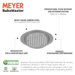 Meyer Bakemaster Non-Stick Bakeware - Pizza Crisper