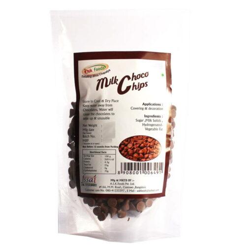 Milk Choco Chips - 100g
