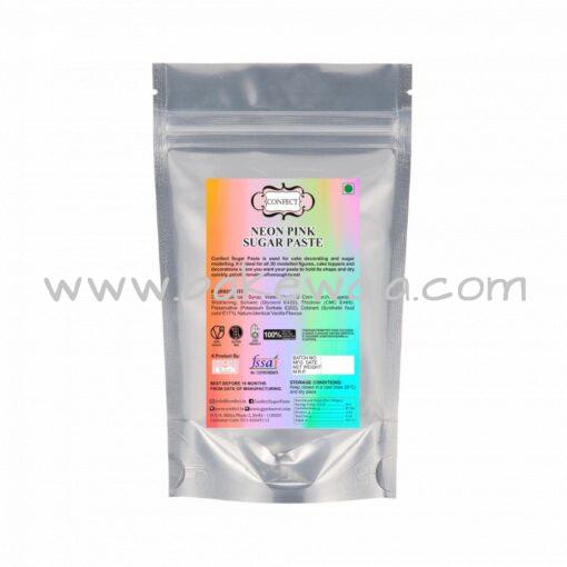 Confect Sugar Paste - Neon Pink - 250g
